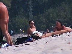 Real nudist beach hidden cam chicks