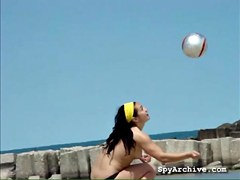 Real hawt hotties at the beach receive ###ly filmed by a voyeur