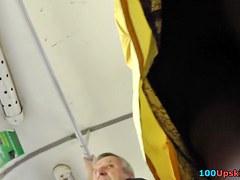 Solely hawt hose on upskirt hidden web camera