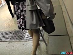 Up dark and white petticoat hawt lengthy legs