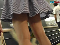 Episode movie filled with gals upskirts
