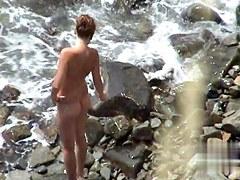 Nude Beach. Voyeur Video 313