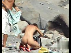 Sex on the Beach. Voyeur Video 10