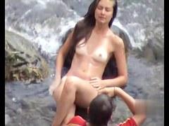 Sex on the Beach. Voyeur Video 12