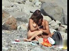 Sex on the Beach. Voyeur Video 14
