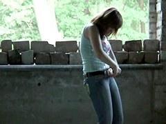 Girls Pissing voyeur video 2