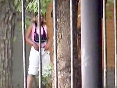 Girls Pissing voyeur video 7