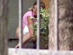 Girls Pissing voyeur video 7