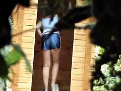 Girls Pissing voyeur video 11
