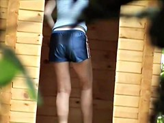 Girls Pissing voyeur video 11