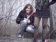 Girls Pissing voyeur video 19