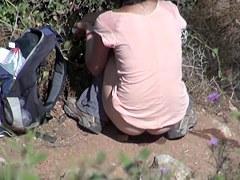 Girls Pissing voyeur video 24