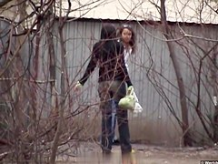 Girls Pissing voyeur video 25