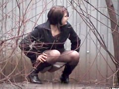 Girls Pissing voyeur video 30