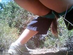 Girls Pissing voyeur video 33