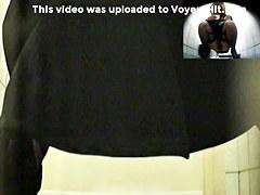 Girls Pissing voyeur video 34
