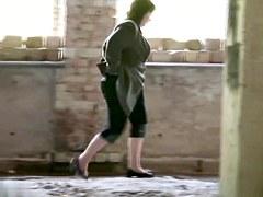 Girls Pissing voyeur video 40