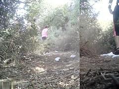 Girls Pissing voyeur video 46