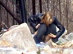 Girls Pissing voyeur video 47