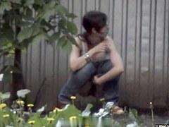 Girls Pissing voyeur video 62