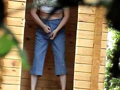 Girls Pissing voyeur video 65