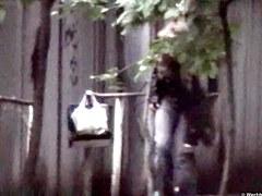 Girls Pissing voyeur video 66