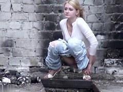 Girls Pissing voyeur video 74