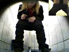 Girls Pissing voyeur video 76