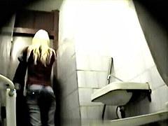 Girls Pissing voyeur video 79