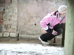 Girls Pissing voyeur video 91