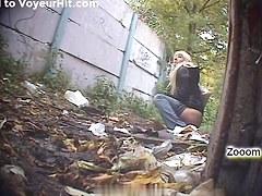 Girls Pissing voyeur video 98