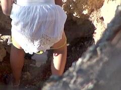 Girls Pissing voyeur video 106
