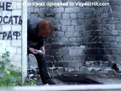 Girls Pissing voyeur video 133