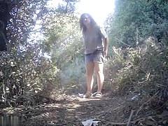 Girls Pissing voyeur video 135