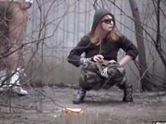 Girls Pissing voyeur video 141