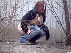 Girls Pissing voyeur video 177