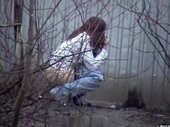 Girls Pissing voyeur video 203