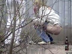 Girls Pissing voyeur video 205