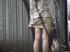 Girls Pissing voyeur video 217