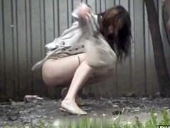 Girls Pissing voyeur video 217