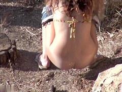Girls Pissing voyeur video 232