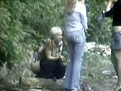 Girls Pissing voyeur video 235