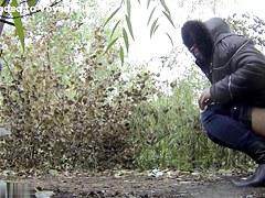 Girls Pissing voyeur video 246