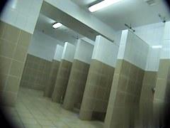 Hidden cameras in public pool showers 3