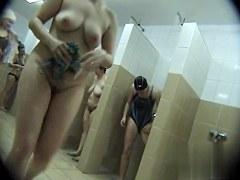 Hidden cameras in public pool showers 146