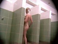 Hidden cameras in public pool showers 350