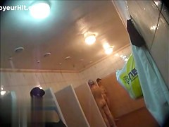 Hidden cameras in public pool showers 704