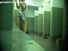 Hidden cameras in public pool showers 835