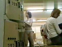 Hidden Camera Video. Dressing Room N 186