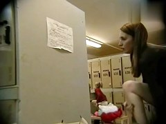 Hidden Camera Video. Dressing Room N 297